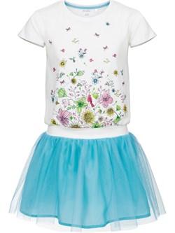 Платье трикотажное для девочек Endo - фото 9033