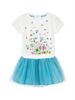 Платье трикотажное для малышей Endo